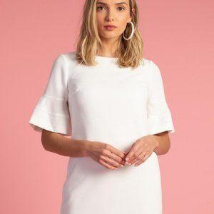 NWT Trina Turk Sojourn 2 White Dress Size 12